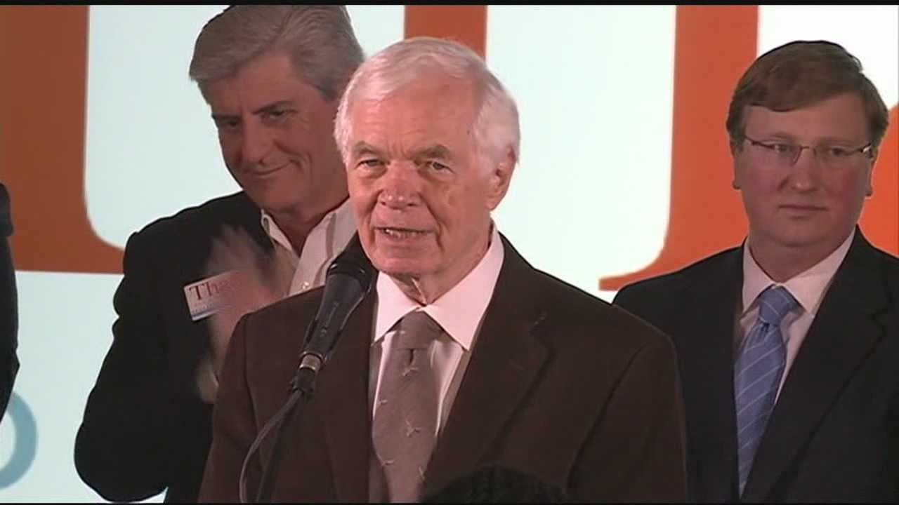Thad Cochran was re-elected to the US Senate in November.
