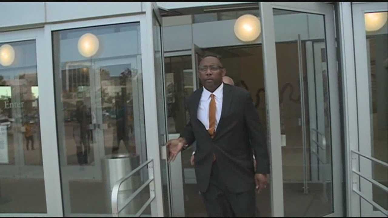 The state's prison-boss, facing bribery and money laundering charges.