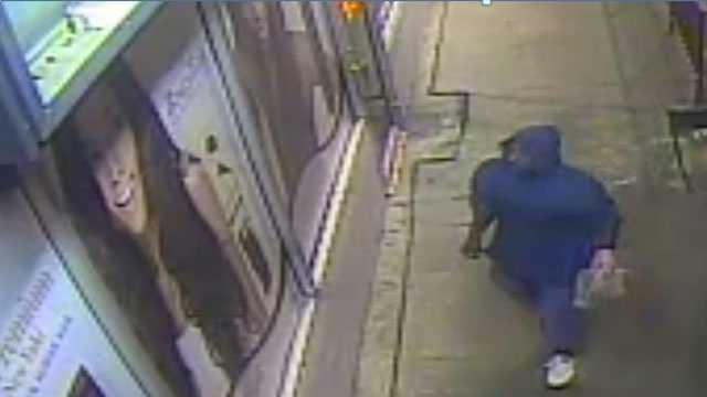 Vicksburg police are asking for the public's help identifying an arson suspect.