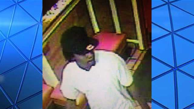 Jackson police released this photo of a man wanted in connection with a shooting outside a restaurant.