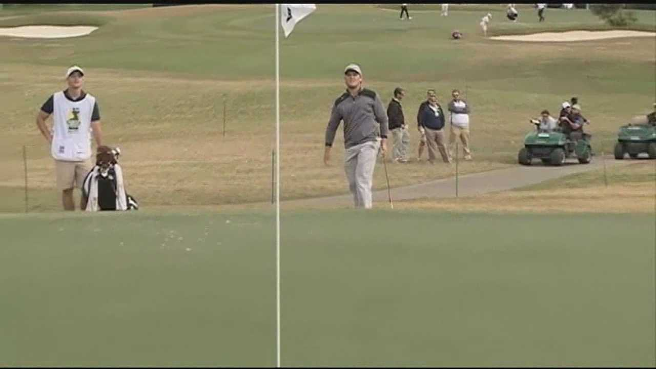 The course is cleared at the Country Club of Jackson as the Sanderson Farms Championship is now over.