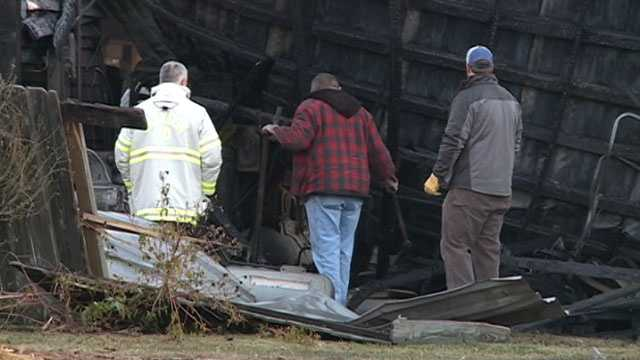 Fire investigators were back at the scene Friday trying to determine what caused the fire at the Ag Museum.