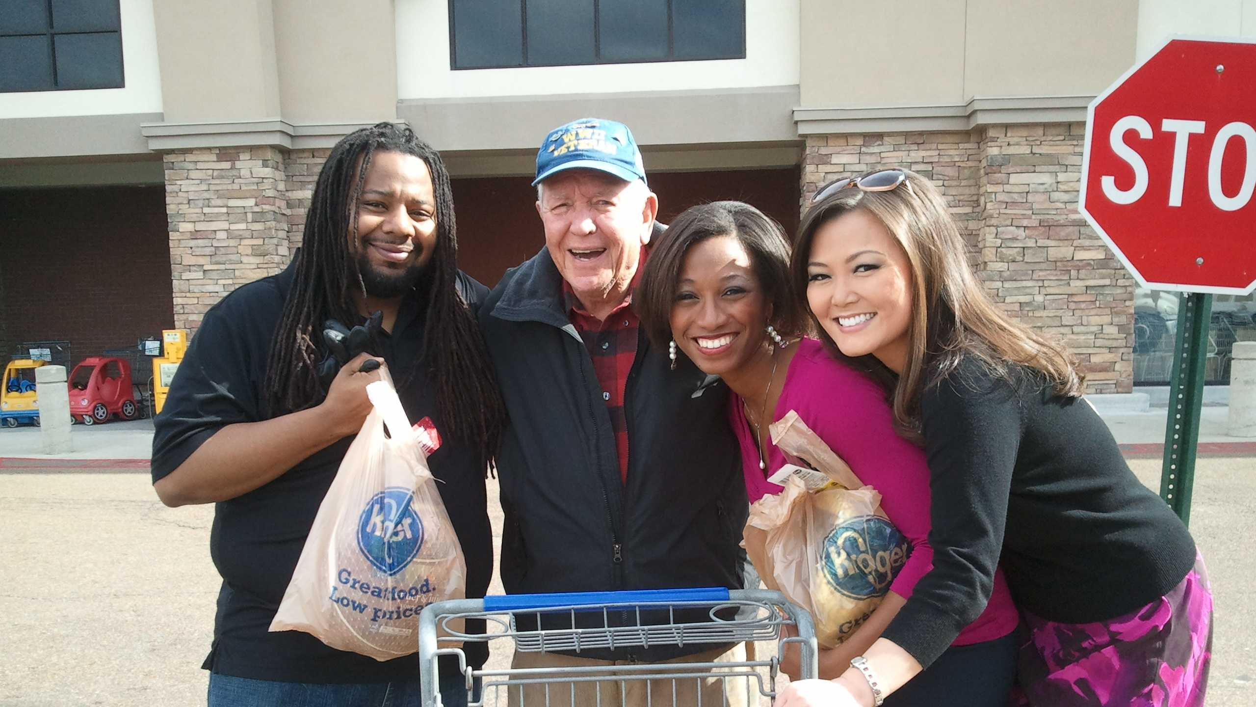William, a WWII veteran from Ridgeland, bought and donated three turkeys for Turkey Drive 16.