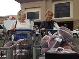 First South Farm Credit donated 25 turkeys.