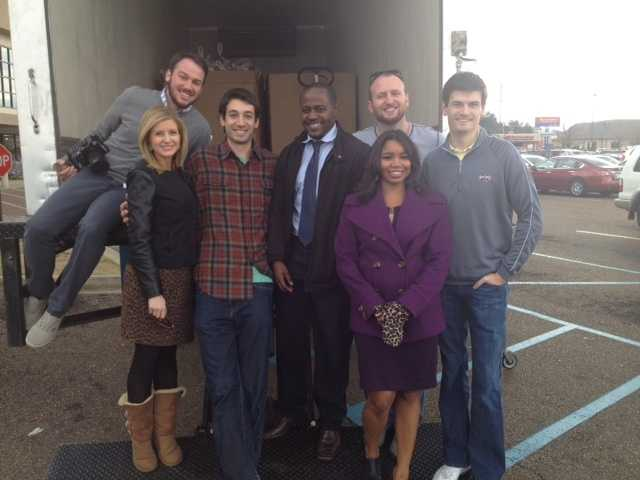 The 16 WAPT News crew was on hand Thursday to collect turkeys for the 3rd Annual Turkey Drive 16.