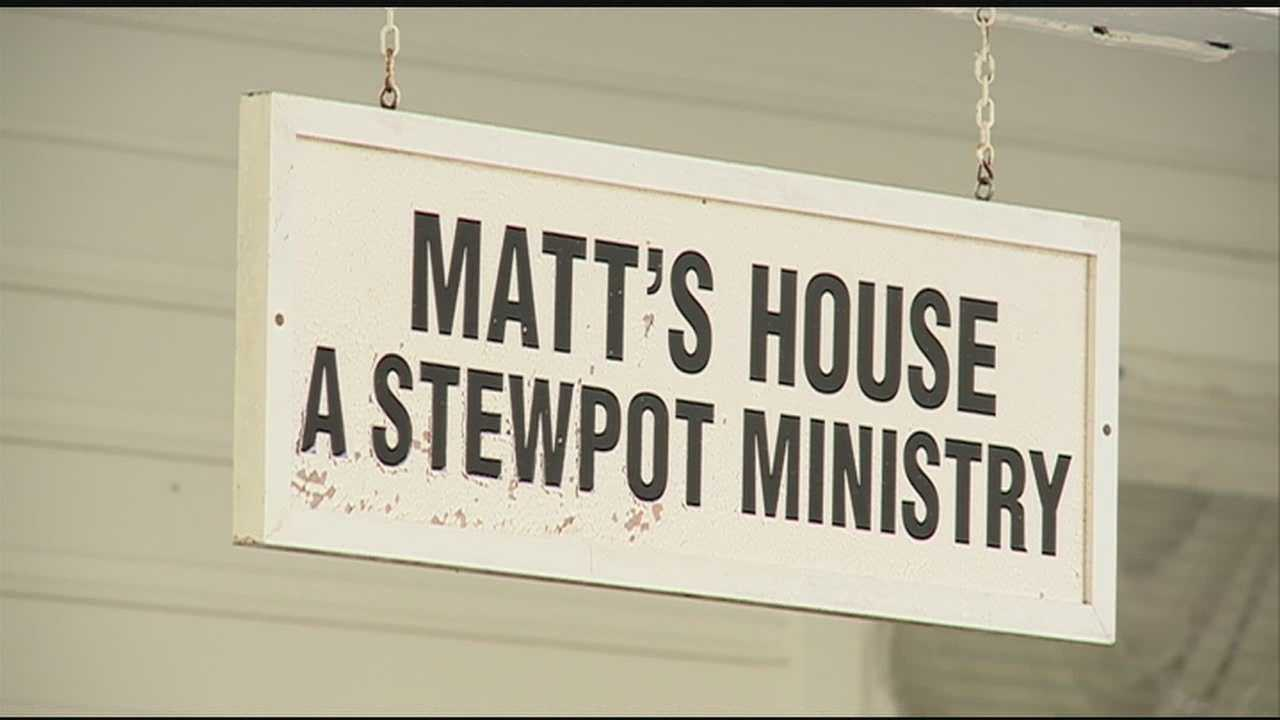 Stewpot Ministry is expected to receive a check donation Monday as it fights to keep two of its shelters in Jackson open.