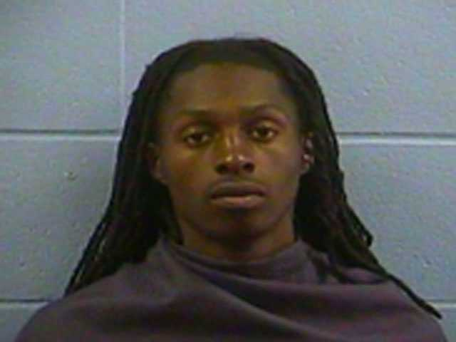 Roderick Burden Jr., 21, is charged with being a felon in possession of a firearm, Vicksburg police say.