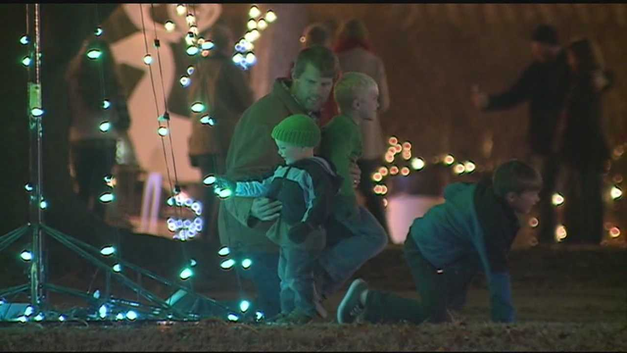 Christmas in Canton kicked off last night -----the festival brings in over 70 thousand people to the area.