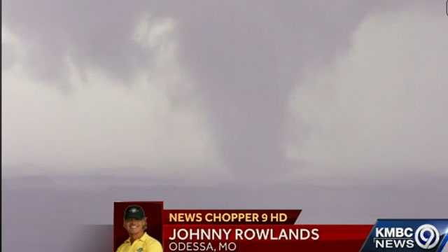 No. 14: Chopper pilot watches tornado develop in front of him. Click here for video.