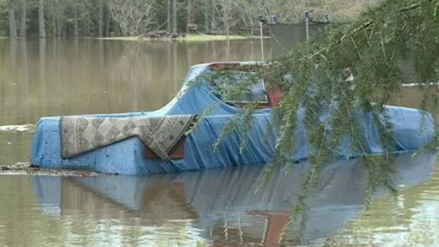 No. 14: Tornado damage, flooding reported in Mississippi. Click here.