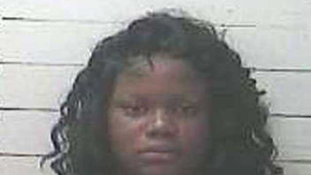 Michelle Shantel Pope, 23, is charged with false reporting of a crime and petit larceny, Gulfport police say.