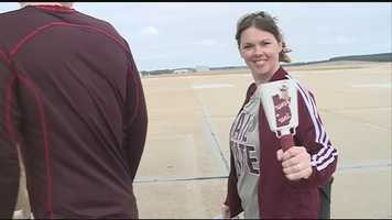 A group of MSU fans boarded a chartered flight to Florida to watch the Orange Bowl.