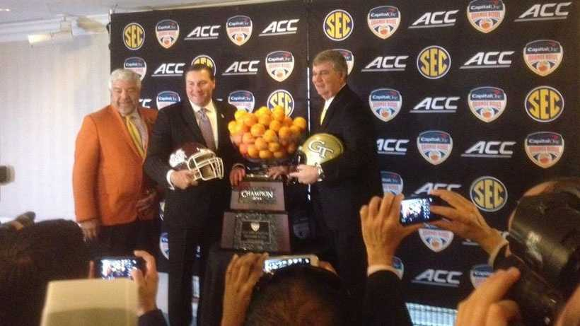 Mississippi State takes on Georgia Tech in the Orange Bowl on New Year's Eve.