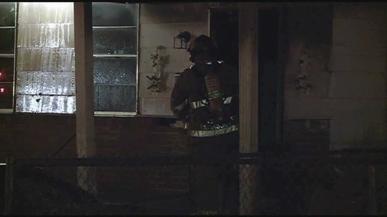 A Jackson woman and her son escaped a house fire early Friday morning.