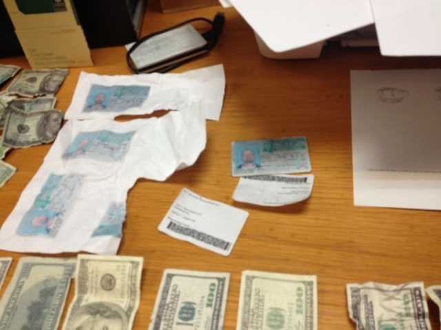 Brandon police say over the course of four days, a man was making and using fake $20 bills.