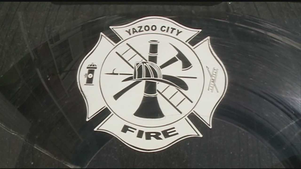 One agency has downgraded the fire rating for Yazoo City.