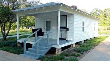 Visit the birthplace of Elvis Presley in Tupelo.