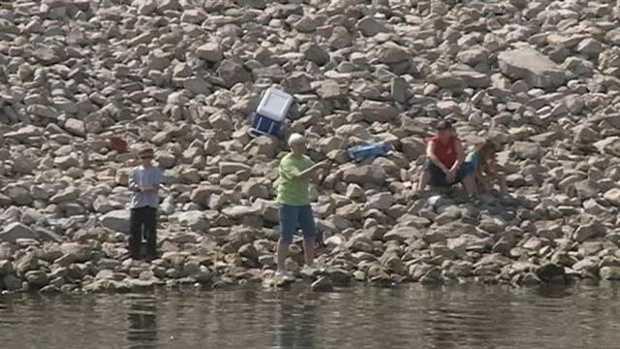 Go fishing at the Ross Barnett Reservoir.