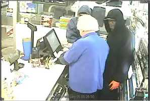 The robbery took place on Feb. 6, police say.