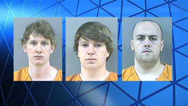 A federal judge sentenced Deryl Paul Dedmon to 50 years. John Aaron Rice to 18 1/2 years and Dylan Wade Butler to seven years on conspiracy and hate crime charges.