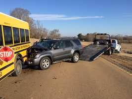The Mississippi Highway Patrol was at the scene Thursday morning.