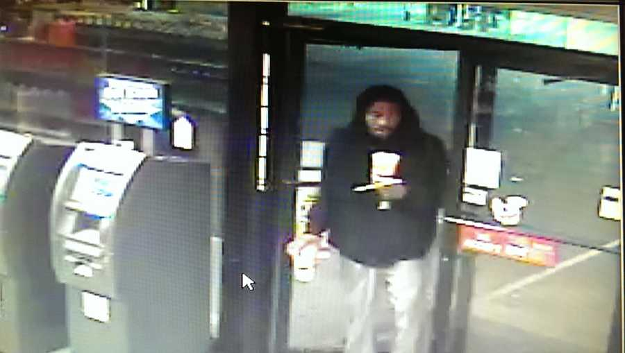 Jackson police release surveillance photos of a man wanted in connection with the armed robbery of a Jackson gas station.