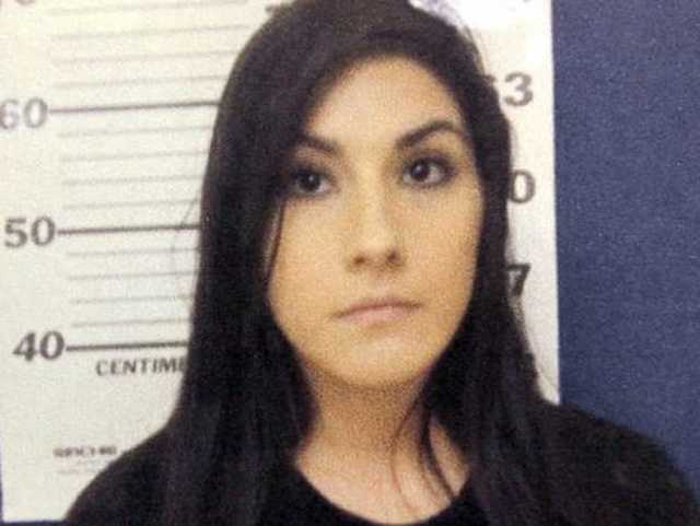 Krystal Danielle Gonzalez, 26, is charged with first-degree arson, D'Iberville police say.