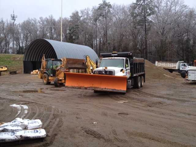 MDOT has put snow plows on trucks that are strategically located throughout the state in preparation for another round of winter weather.