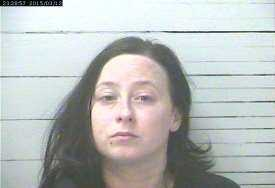 Christine Ann Marie Cooper, 25, is charged with cultivation of marijuana and possession of Spice, Gulfport police say.