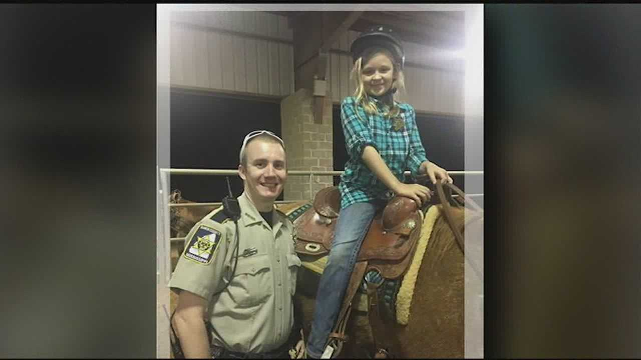 Deputy Daniel Strickland saves a 9-year-old from choking.