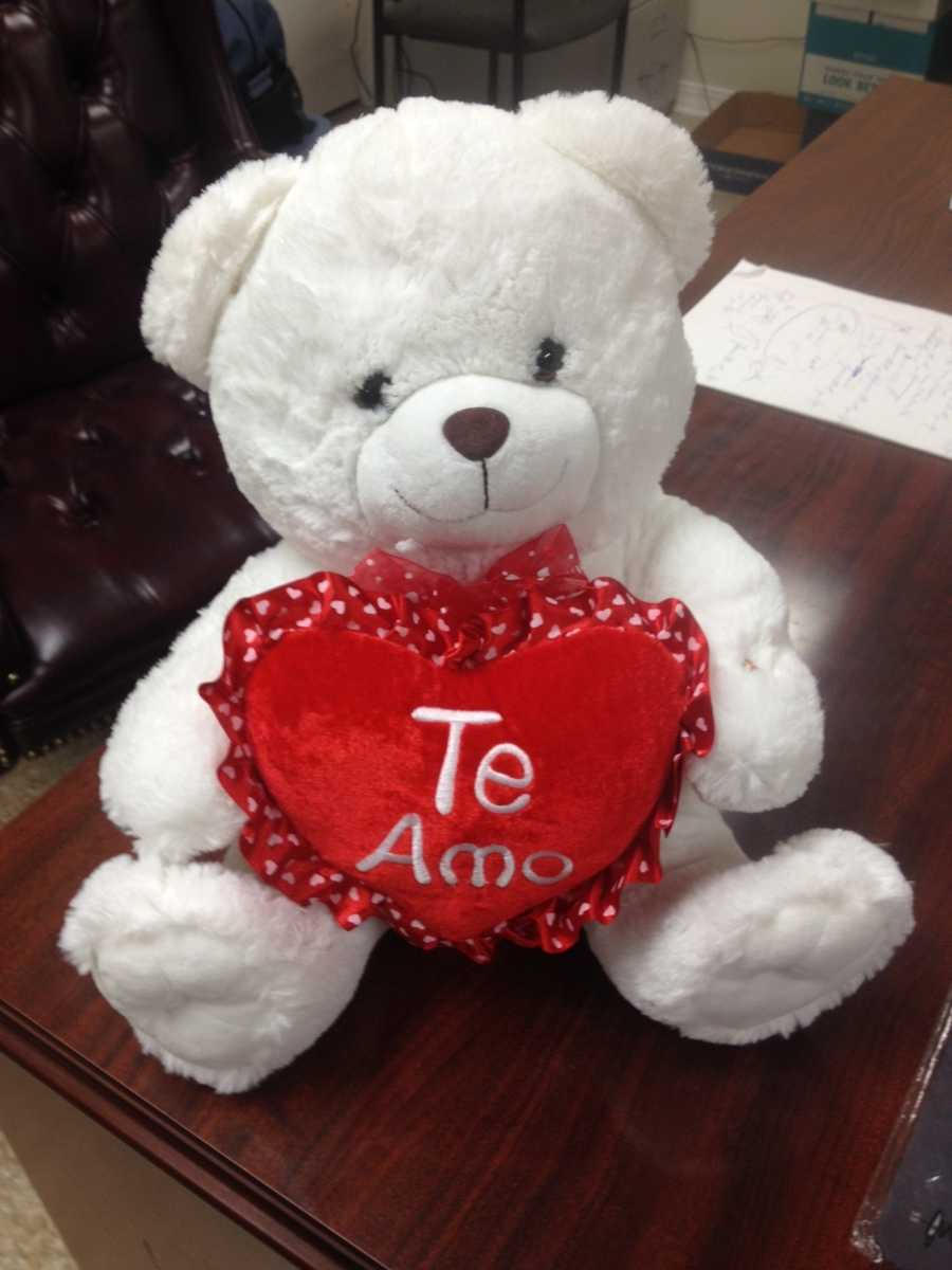 Two men are arrested after MBN agents find $100,000 worth of ice hidden inside a toy bear.