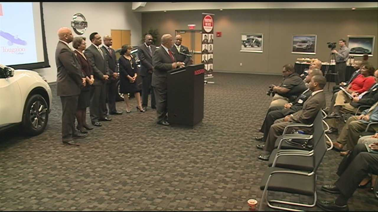 The car company handing over thousands of dollars to 6 historically black colleges in the state.