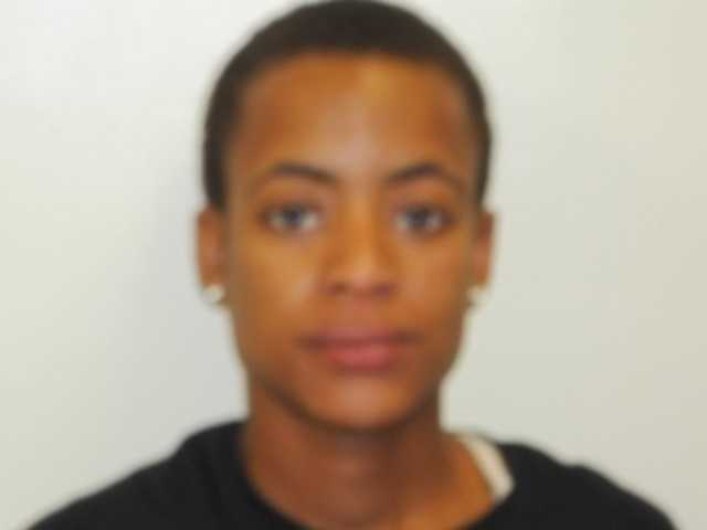 Shalethea Allen, 28, is charged with simple domestic violence, Byram police say.