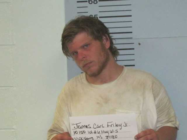 James Carl Friley Jr., 26, is charged with enticement of a child for sexual conduct, the Warren County sheriff says.