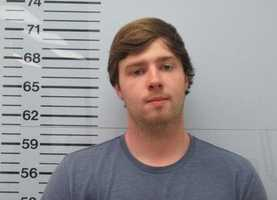 Collin Michael Bishop, 20, of Nashville, Tennessee,is charged with possession of Xanax with intent to distribute, Lafayette County authorities say.