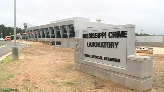 The new state crime lab in Pearl is four times of the size of the current facility.