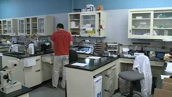 The old crime lab in Jackson is too small for the new, important technology.