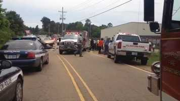 The crash happened near South McRaven Road in Clinton.