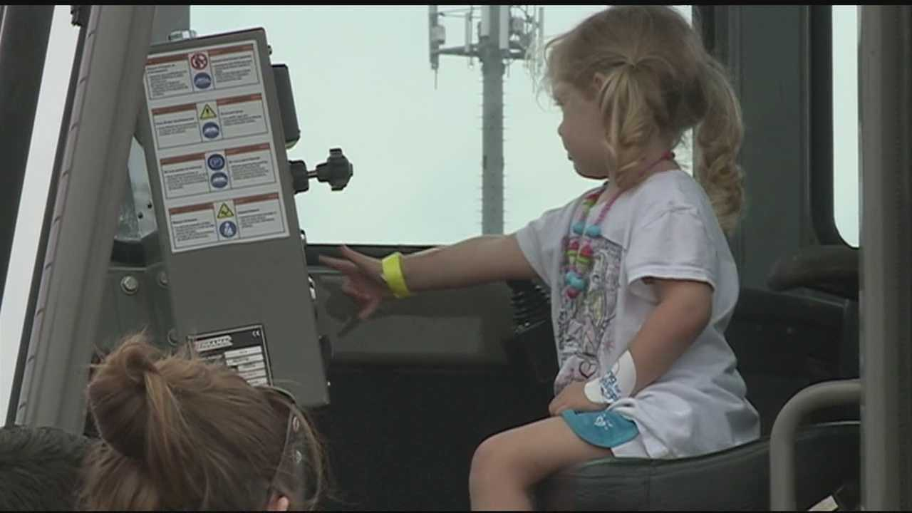 A local group is giving kids a chance to get up close and personal with their favorite vehicles in the community.