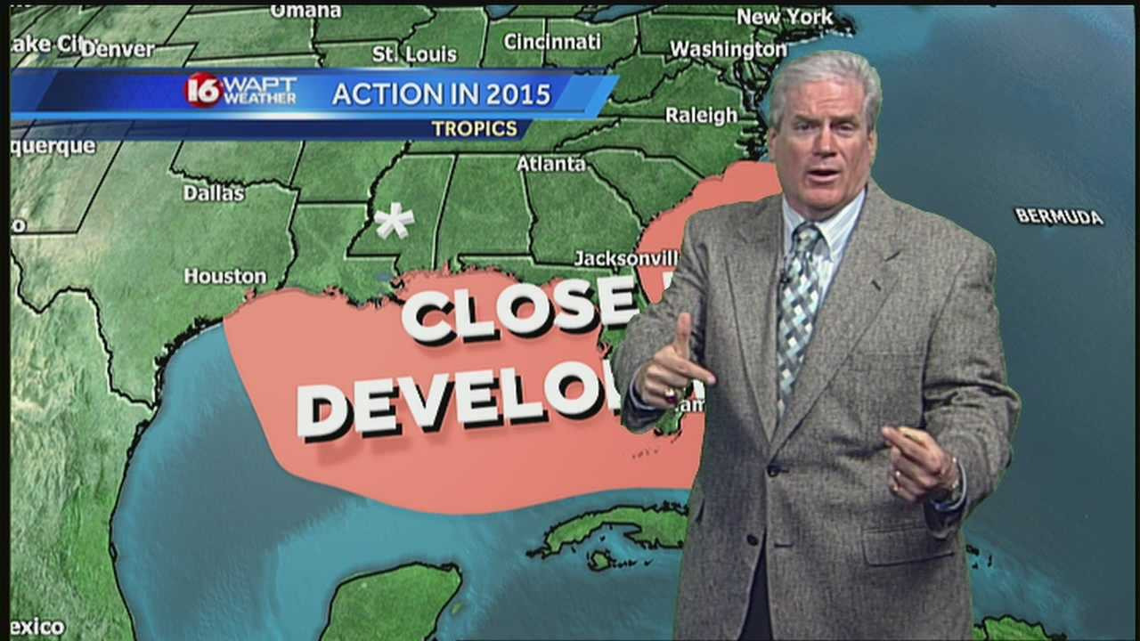 16 WAPT chief meteorologist David Hartman reveals his 2015 hurricane forecast.