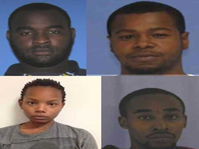 Four people have been charged in connection with the case. From Upper left going clockwise. Curtis Banks, Marvin Banks, Cornelius Clark, Joanie Calloway