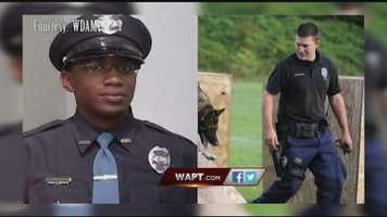 Hattiesburg police officersBenjamin Deen, 34, and Liquori Tate, 25, were killed May 10 during a traffic stop.