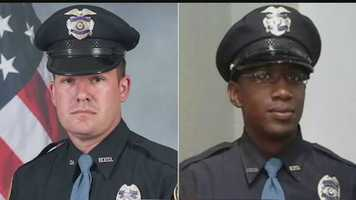 Hattiesburg Officers Benjamin Deen and Liquori Tate were shot and killed during a traffic stop May 9, 2015.
