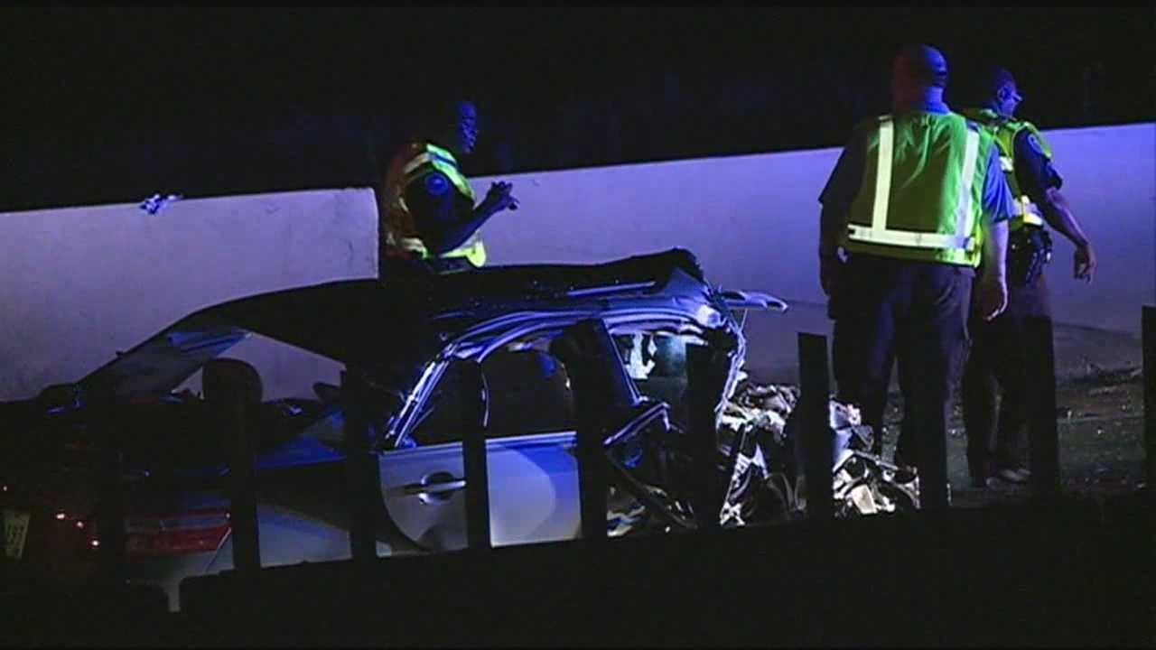 One person is dead after an early morning wreck on the interstate.