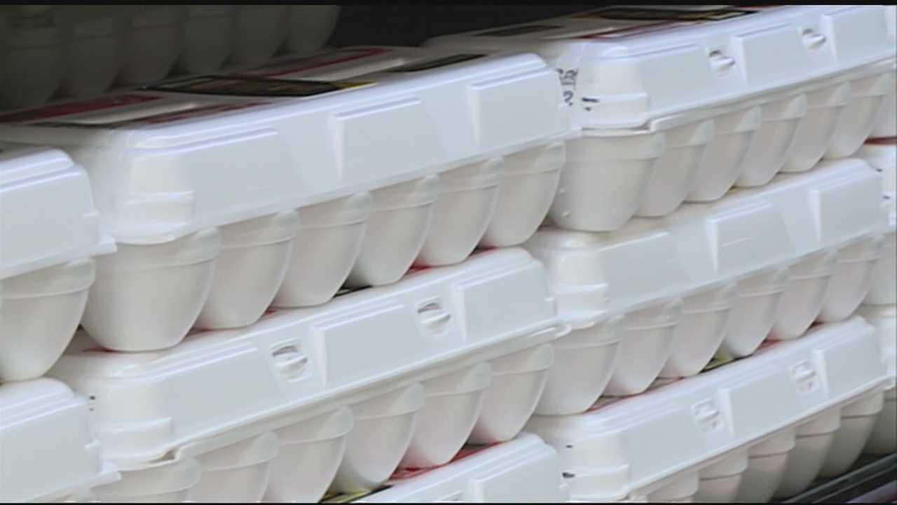 The cost of eggs has gone up 85 percent since the first of the year in this country.