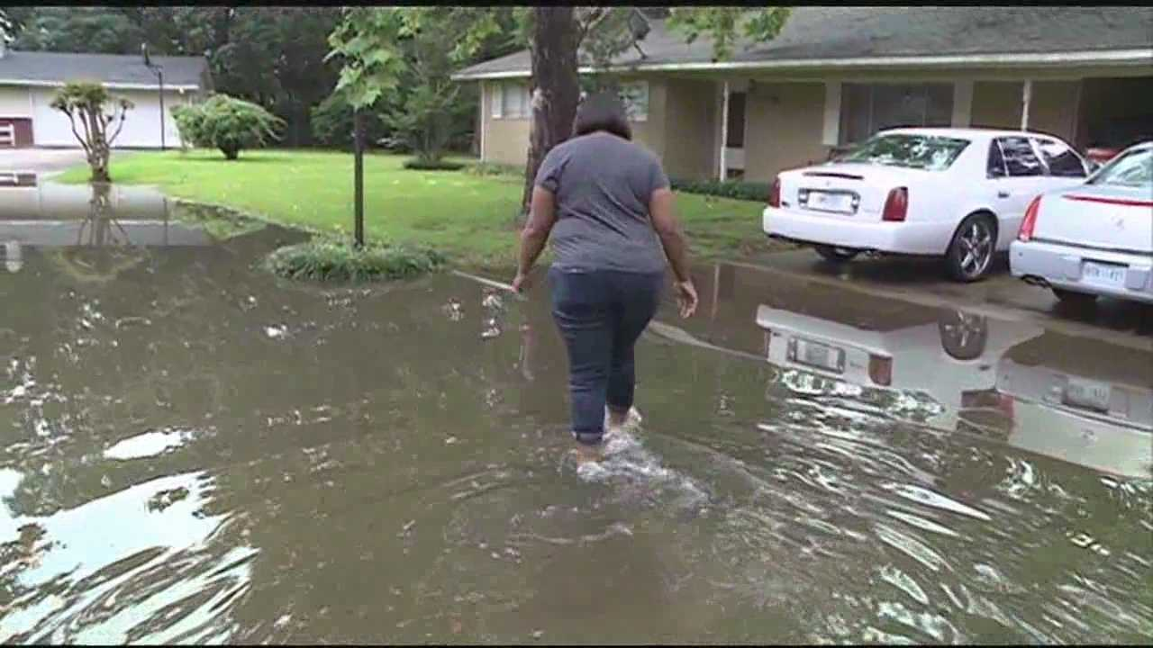 Heavy rains causing problems all over the area.