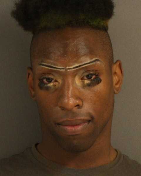 Courtney Barnes, 24, is charged with shoplifting, violating a traffic ordinance and driving without a license, Jackson police say.