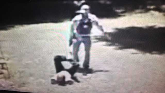 The attack was caught on camera, the Rankin County sheriff says.