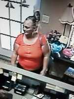 Marie's on S. Siwell Road in Byram posted surveillance photos on Facebook of women store operators say are suspected of shoplifting.