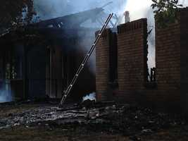 The fire was reported about 6 a.m. Friday at 5193 Jackson-Raymond Road.